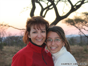 Sydney Kirk, right, took a medication vacation from her ADHD drugs unbeknownst to her mom, Julie.