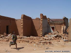 The floodwaters have subsided in Agadez, Niger, leaving the city looking like &quot;it has been hit by an earthquake.&quot;