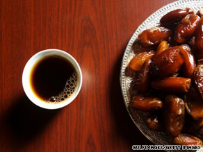 It is traditional to eat dates on Eid al Fitr, the breaking of the month-long fast of Ramadan.