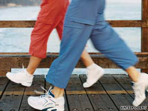 Beginners should aim to walk at least five days a week. Every second or third week, add 5 minutes.