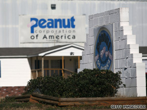 Peanut Corporation of America declared bankruptcy in February.