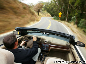 Driving a convertible for long periods of time may put you at risk for hearing loss, a study said.