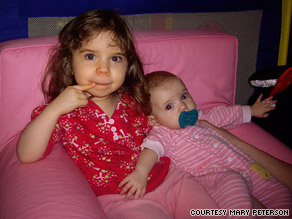 Mary Peterson's daughters, 3 and 1, will not be getting the new vaccine, she said.