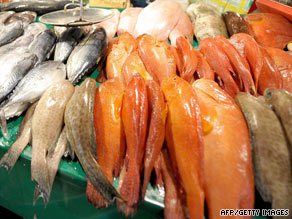 Experts recommend eating fresh fish at least once a week.