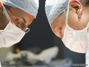 Women make up only 5 percent of all neurosurgeons.