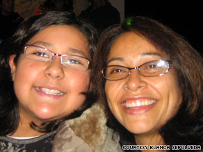 Blanca Sepulveda, right, was &quot;devastated&quot; when her daughter Frida began showing signs of type 2 diabetes.