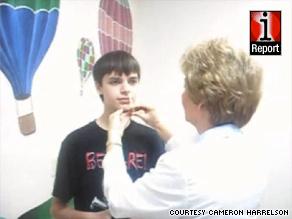 Cameron Harrelson, 16, of Baxley, Georgia, said he feels safer now that he got his H1N1 flu shot.