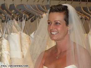 Jessica Keenan wanted to get married to defy her breast cancer.