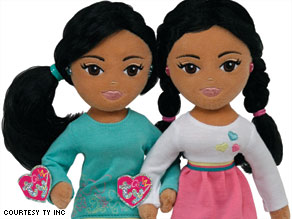 A spokeswoman says Sweet Sasha and Marvelous Malia dolls are not inspired by President Obama's daughters.