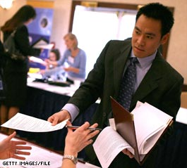 Job fairs have been on the rise amid the nation's hard economic times.