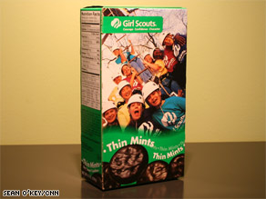 Girl scouts are busy, so their parents are peddling their all-American cookies in the office and online.