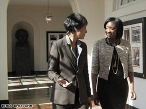Rogers' exclusive interview with Ogunnaike is the first television interview she's done.