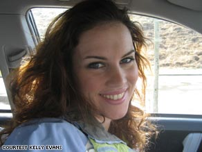 Kelly Evans, 23, is an economics reporter for The Wall Street Journal.