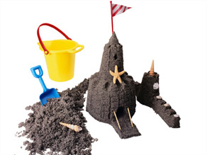 To build a good sand castle you need a lot of water, a competitive builder says.