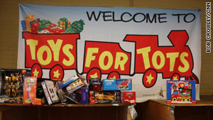 Struggling to find enough Toys for Tots