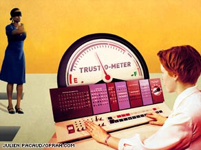 No matter how faulty your trust-o-meter, it's never too late to debug the system.