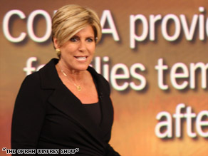 Suze Orman says you should pay the minimum on credit cards until you have eight-month emergency fund.