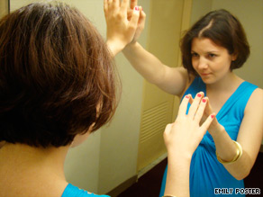 Nearly 10 percent of twentysomethings report symptoms of narcissism, a survey says.