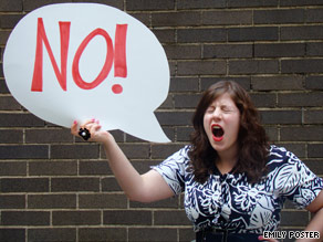 "Too many women are afraid to say, ""No,"" says author."