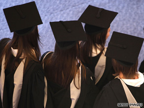 More college graduates are saddled with debt after taking private student loans to fund their education.