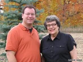 Todd Anderson pointed his widowed mother Eunice to eHarmony where he had found his own wife, Tracy.