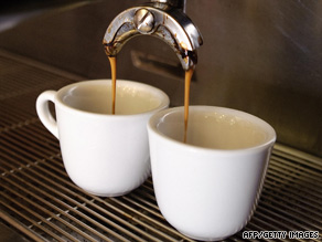 Men confess over cups of coffee about their lives and wives, female writer says.