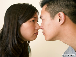 Researcher finds it's easier to get couple started fighting than it is to stop them.