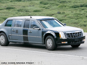 Auto enthusiasts have panned the design of the new presidential limo, which will be painted all black.