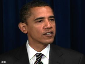 Obama says the Israel-Gaza conflict has led him to ramp up peace negotiations in the Middle East.