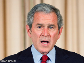 "George W. Bush: ""This nation must continue to speak out for justice and truth."""