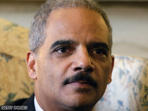 "Attorney General-designate Eric Holder said at his confirmation hearing that ""waterboarding is torture."""