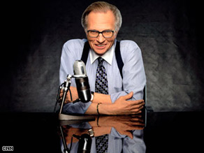 Larry King says no one will ever need to ask if an African-American can be elected president.