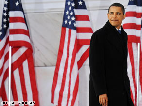 Barack Obama, here Sunday at the Lincoln Memorial in Washington, plans high-profile moves on Wednesday.