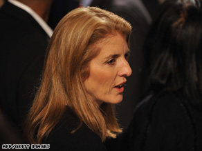 Caroline Kennedy has withdrawn her name from consideration for Hillary Clinton's Senate seat.