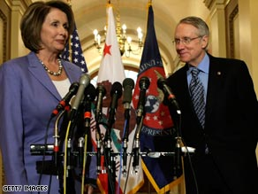 Nancy Pelosi and Harry Reid have made it clear that they don't agree with President Obama on everything.