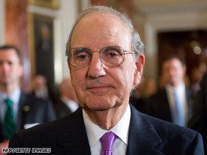 Former Sen. George Mitchell says that &quot;there is no such thing as a conflict that can't be ended.&quot;