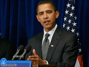 President Barack Obama has pledged to work with Republicans on his economic stimulus package.