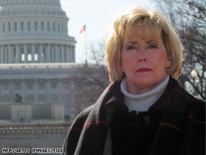The act is named for Lilly Ledbetter, seen here in 2008. Her discrimination lawsuit victory was overturned in 2007.