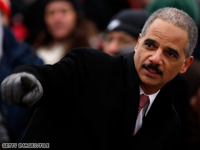 Attorney General-designate Eric Holder served as President Clinton's deputy attorney general.