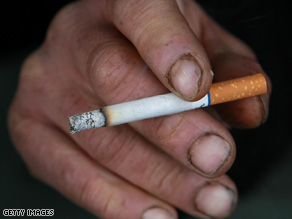 Sen. Tom Harkin's office says smoking causes $110 billion in health costs each year.