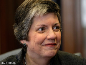 Department of Homeland Security Secretary Janet Napolitano had a busy first week at her new job.