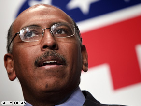 Michael Steele said Friday Republicans must take &quot;a brand new message to the American people.&quot;