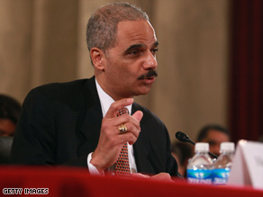 Eric Holder is a former federal prosecutor and served as deputy attorney general during the Clinton administration.