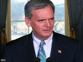 GOP Sen. Judd Gregg accepted President Obama's nomination as commerce secretary Tuesday.