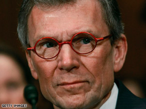 Tom Daschle said Tuesday that he's stepping aside as the nominee for secretary of health and human services.