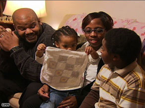 Robert and Kia Partlow use Maryland's Children's Health Insurance Plan.