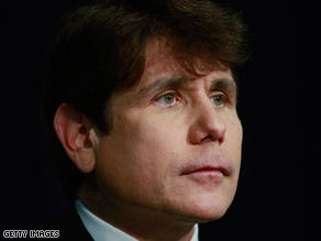 "Former Illinois Gov. Rod Blagojevich blames the ""phony, hypocritical"" lawmakers for his impeachment."
