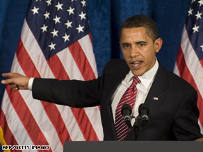 President Obama said if a stimulus bill isn't passed the economy will continue to get worse.