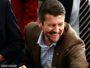 Todd Palin, shown campaigning in Virginia in 2008, didn&#039;t testify, but submitted a statement in the case.