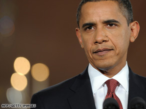 "President Obama urged Congress ""to act without delay"" on his economic stimulus plan."